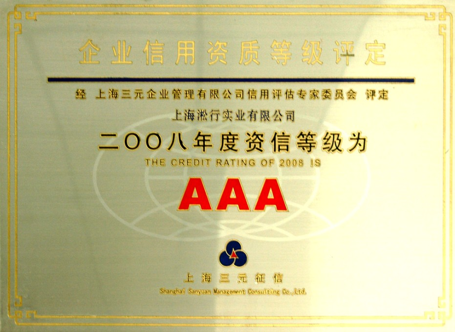 AAA credit rating of 2008